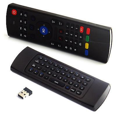 fly mouse air remote qwerty keyboard