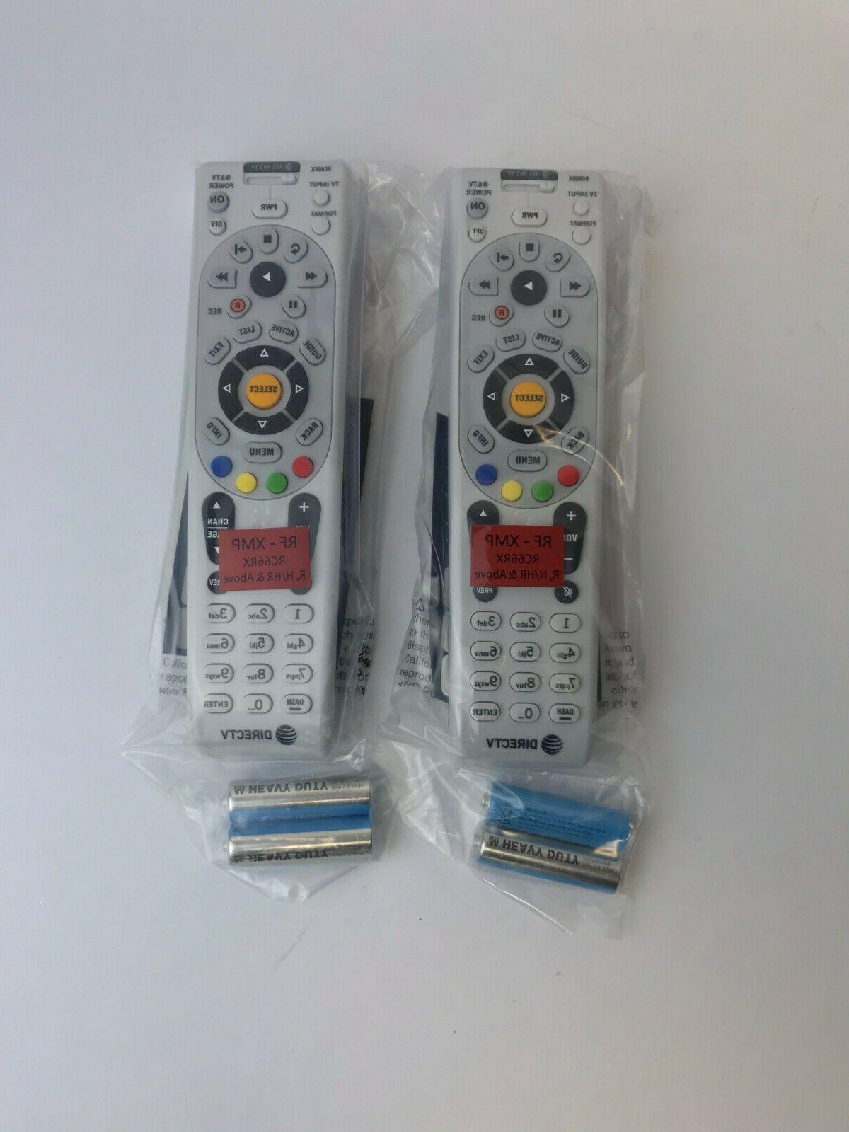 DIRECTV RC66RX RF Remote Controls W//Batteries DTV ten Lot Of 10