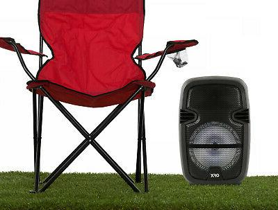 "8"" 4400Watt Portable Bluetooth Sound Party Tailgate"