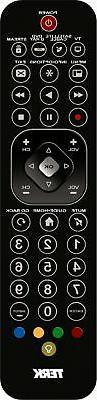 TERK - 4-Device Remote - Brushed Black