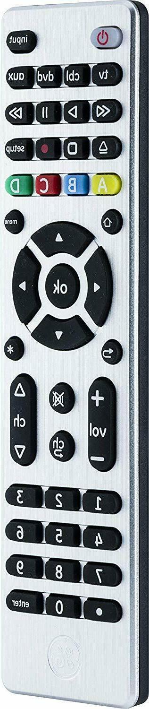 GE 4 Remote, Smart TVs, LG, Vizio, Blu DVD,