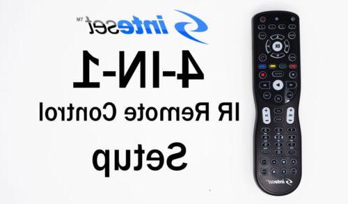 Inteset 4-in-1 Backlit IR Learning for TV