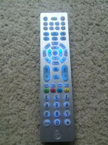 Ge - 8-device Universal Remote - Brushed Silver