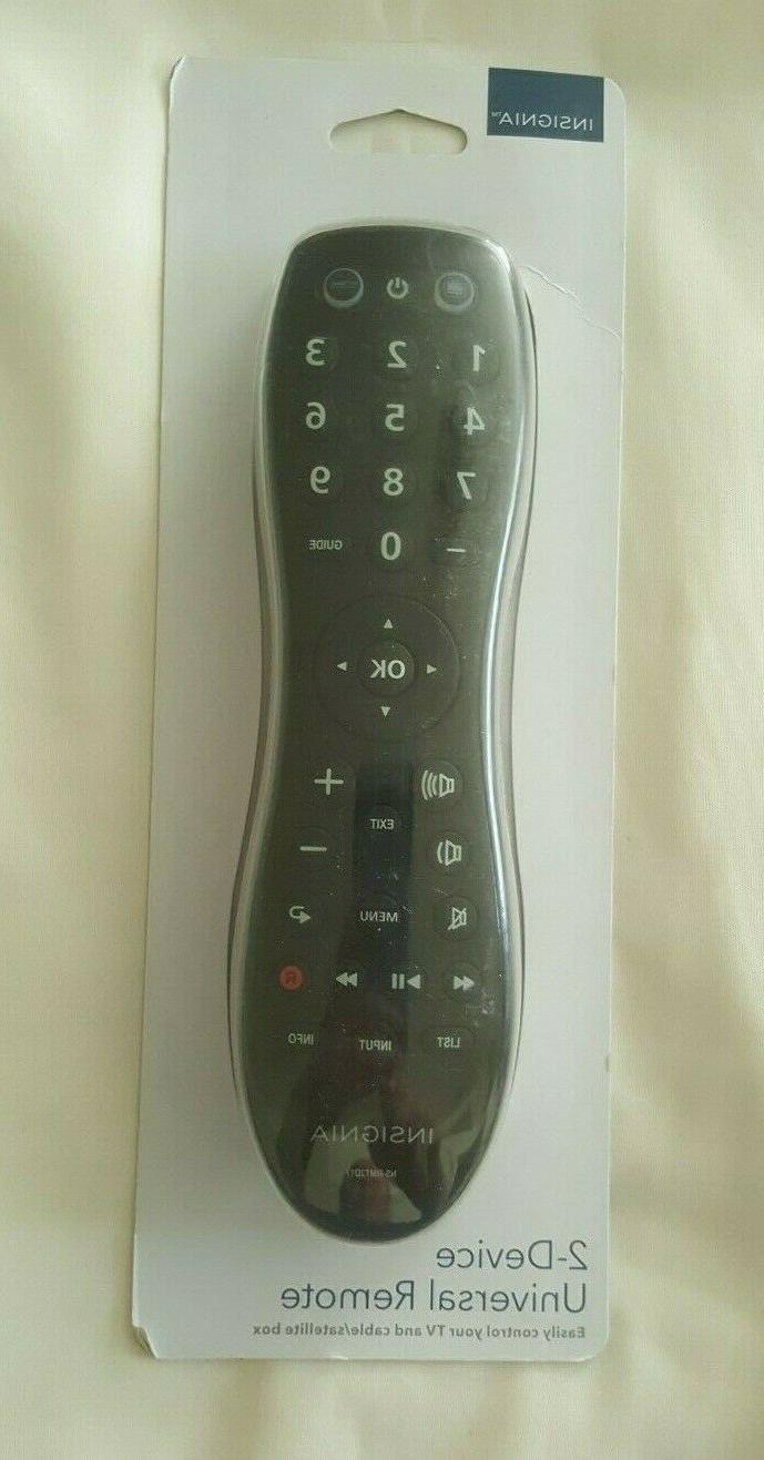 Insignia - 2-Device Universal Remote - Black