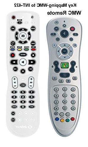 Inteset IR Learning Remote use with Apple Xbox One, Center/Kodi, most Streamers and A/V Devices