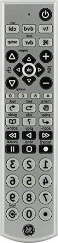 Jasco 24965 Big Button Slimline 4-Device Remote