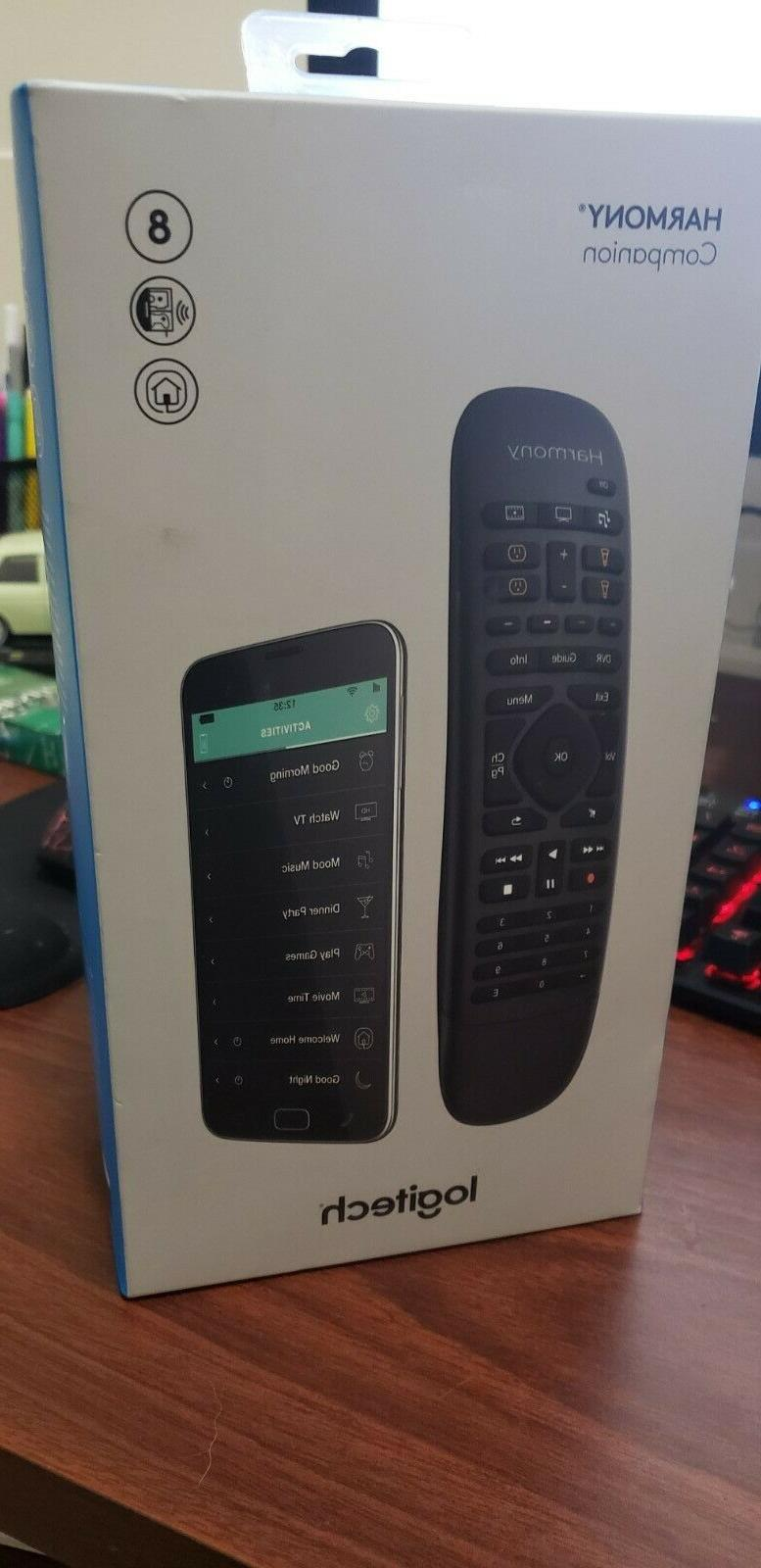 Logitech Harmony Companion All in One Remote Control for Sma