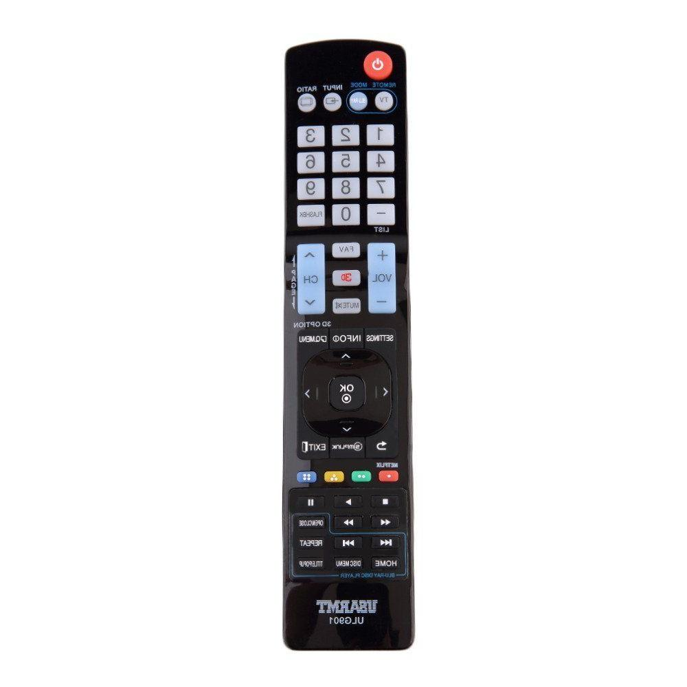 NEW LG TV Blu-Ray DVD player Universal Remote by USARMT - NO