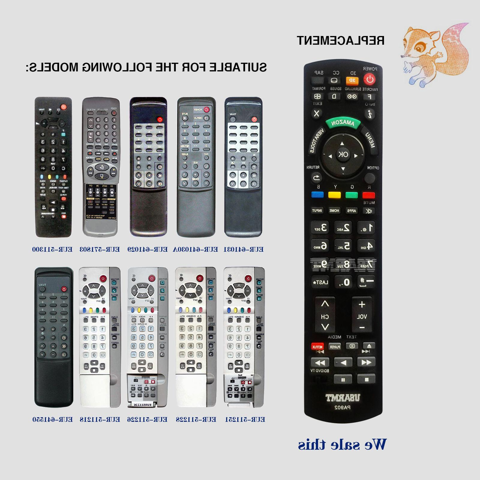 New in 1 Remote For Panasonic TV DVD player