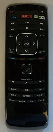 New Original VIZIO Blu-ray BD dual side Keyboard remote cont