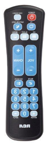 RCA RCRHM02BR 2 Device Universal Remote