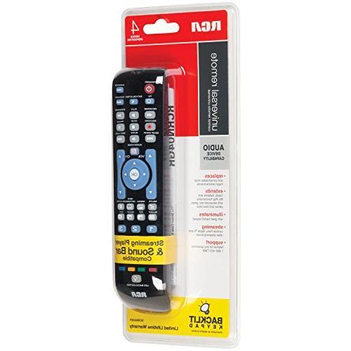 RCA RCRN04GBE Universal Remote,