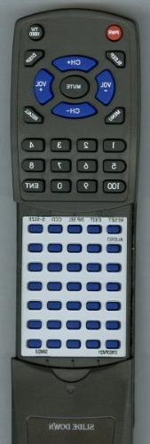 Replacement Remote Control for SANSUI HDLCD1955, HDLCD1912,