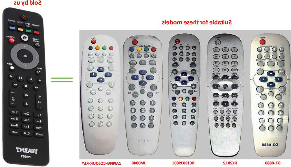 USARMT PHILIPS Universal Remote for Smart HD TELEVISION Blu-