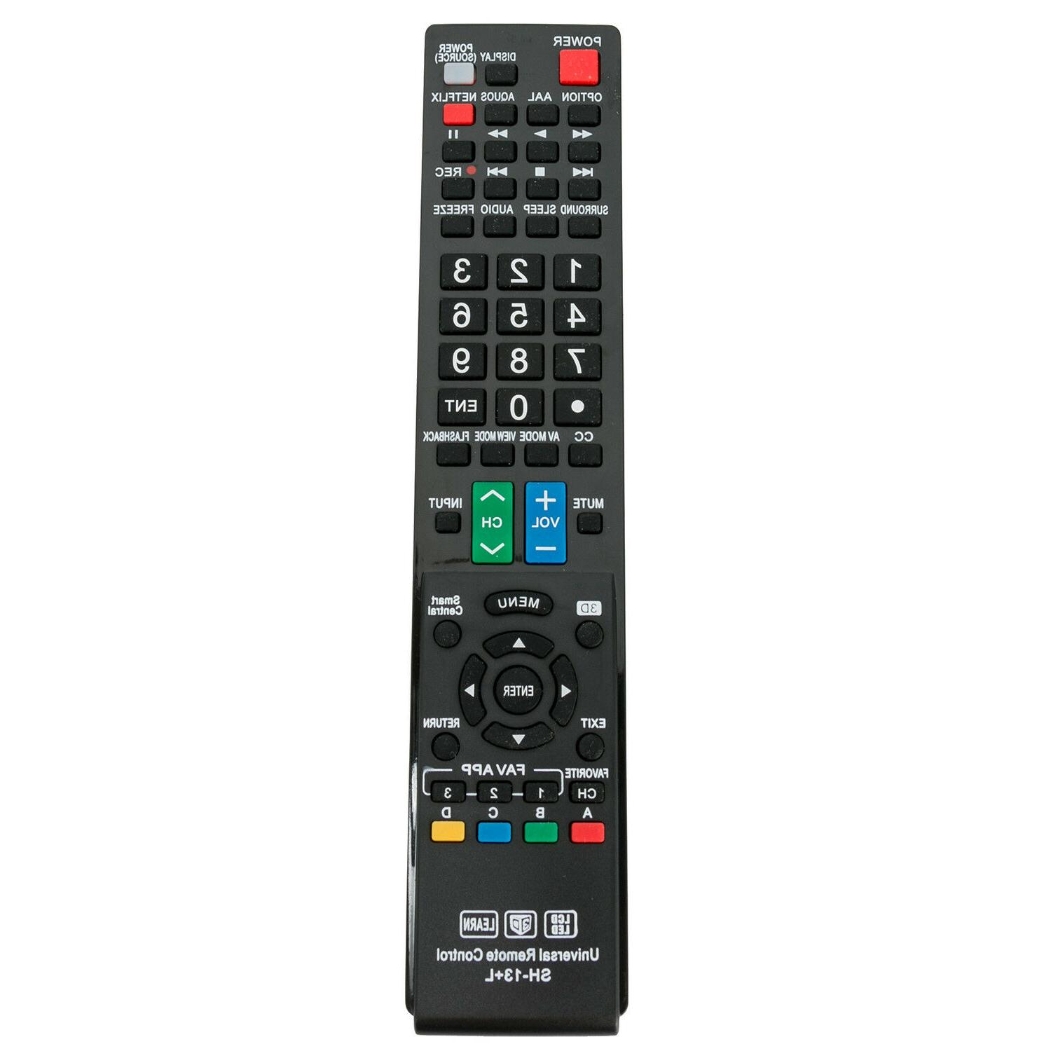 Universal Remote Control for Almost All Sharp LCD LED HD Sma