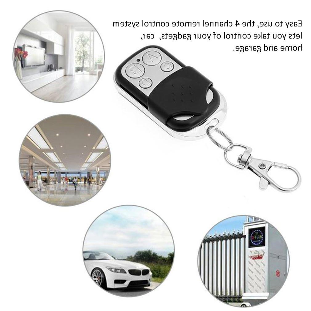 ABCD Wireless RF Garage Door Key Fob