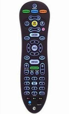 AT&T U-VERSE S30 UNIVERSAL REMOTE CONTROL BLUE BACK LIGHT CY