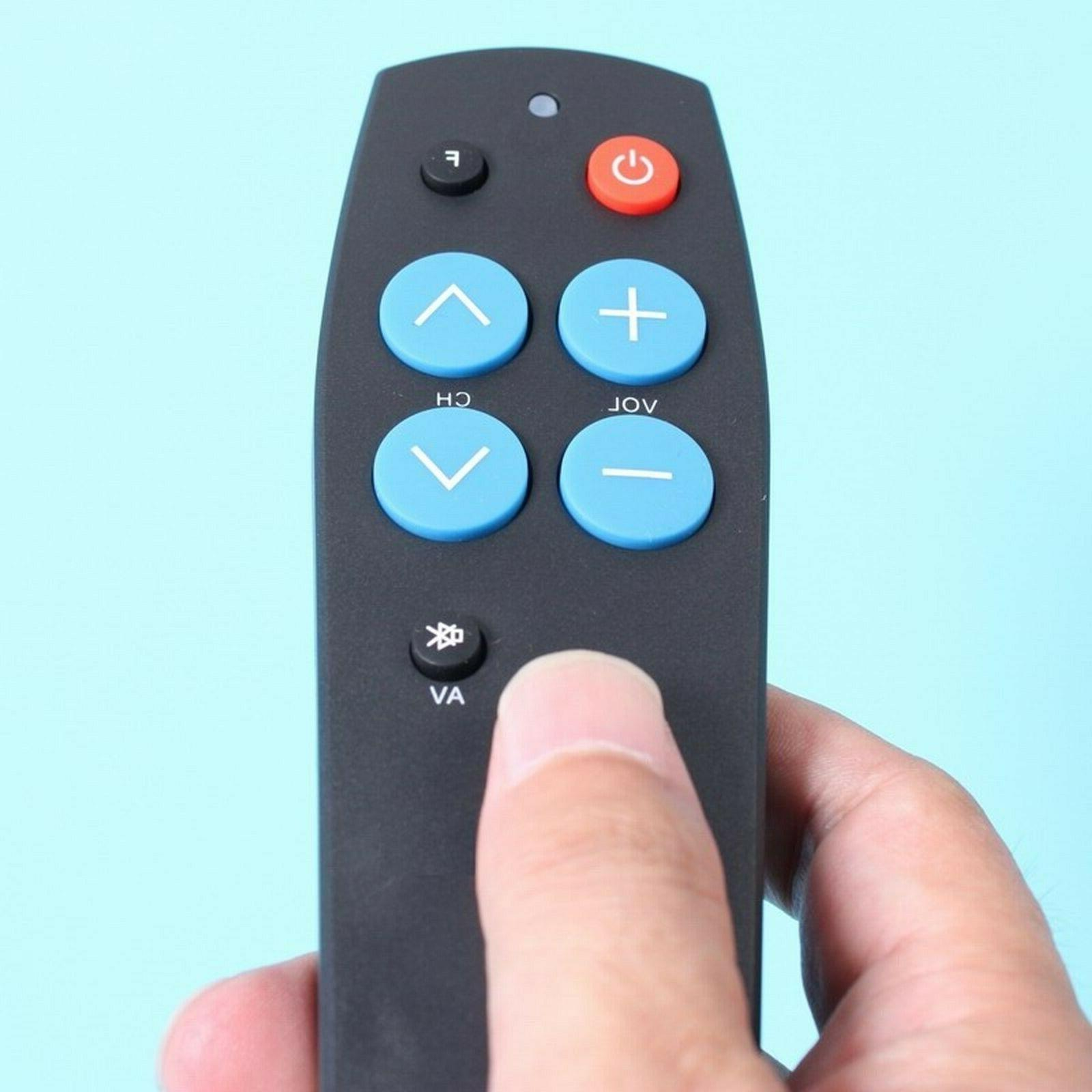Big Button TV Learning Remote Elderly/Seniors. FREE P&P