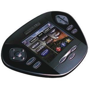 black touchscreen ir rf