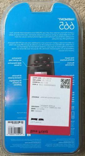 Brand Hamony 665 Remote Universal Apple