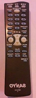 Brand New In BOX Sanyo Multimedia Universal Remote Control R