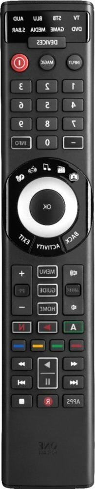 Brand New One For All Smart 8-Device Universal Remote Black