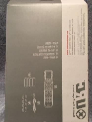 *BRAND NEW* 48-DEVICE UNIVERSAL REMOTE CONTROL - BLACK
