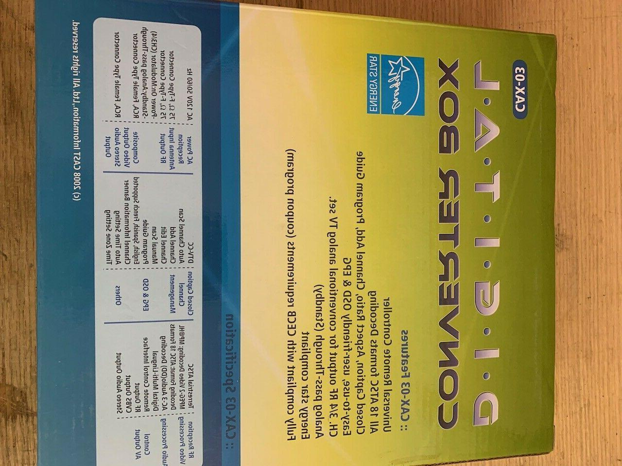 CASTi CAX-03 to TV Converter Control