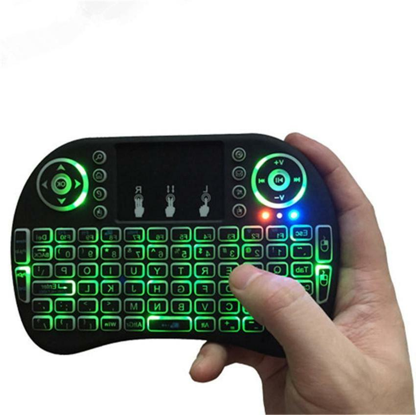 Color Remote+Touchpad Android Box