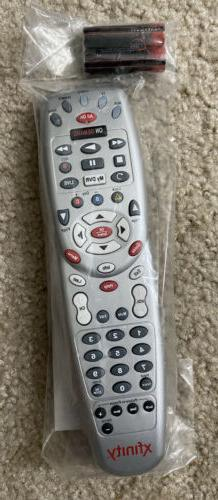 Xfinity Comcast Universal Remote Control With Manual And AA