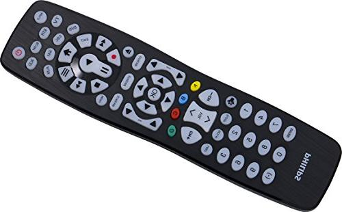 Philips Universal Remote Control, Backlit, Big Button, Smart LG, Sony, Ray, Players, Auto Pre-Programmed for SRP9488C/27