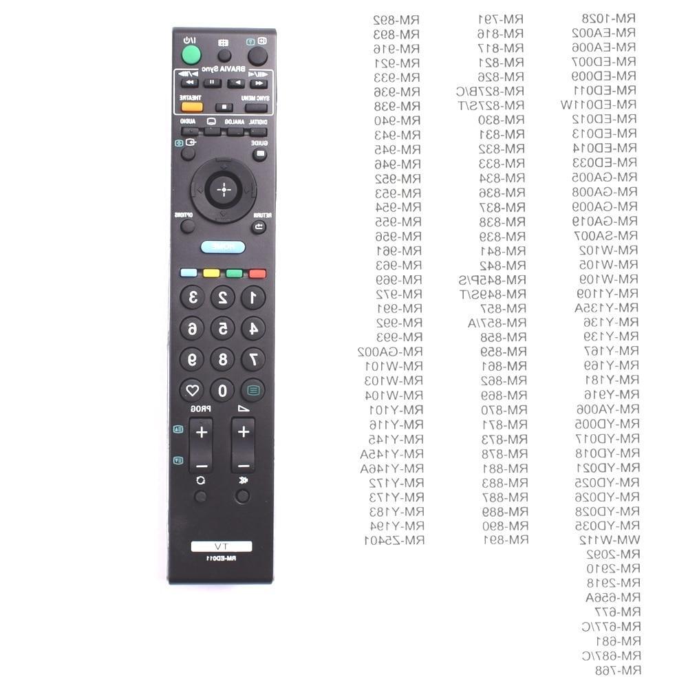 <font><b>remote</b></font> for <font><b>SONY</b></font> Bravia RM-ED011 rm-ed012 ED011 <font><b>Sony</b></font> smart LED LCD <font><b>TV</b></font>.