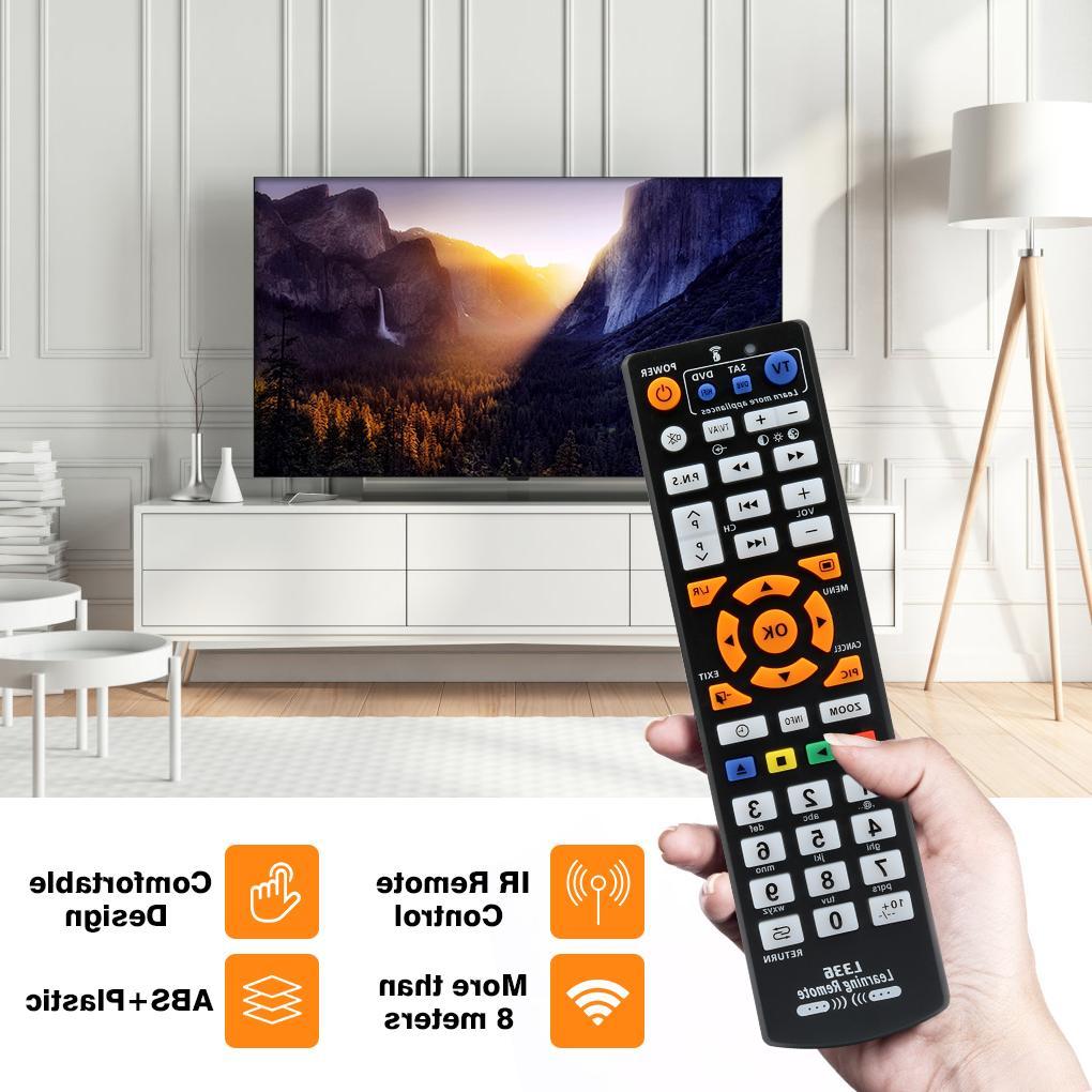 <font><b>Universal</b></font> Control 3 pages for TV STB SAT HIFI TV BOX, L336