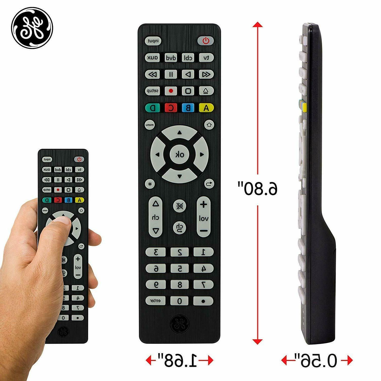 GE 4 Remote Vizio Ray DVD DVR Roku