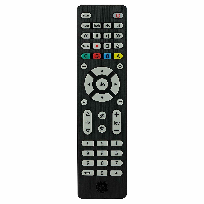ge 4 device universal remote smart tvs