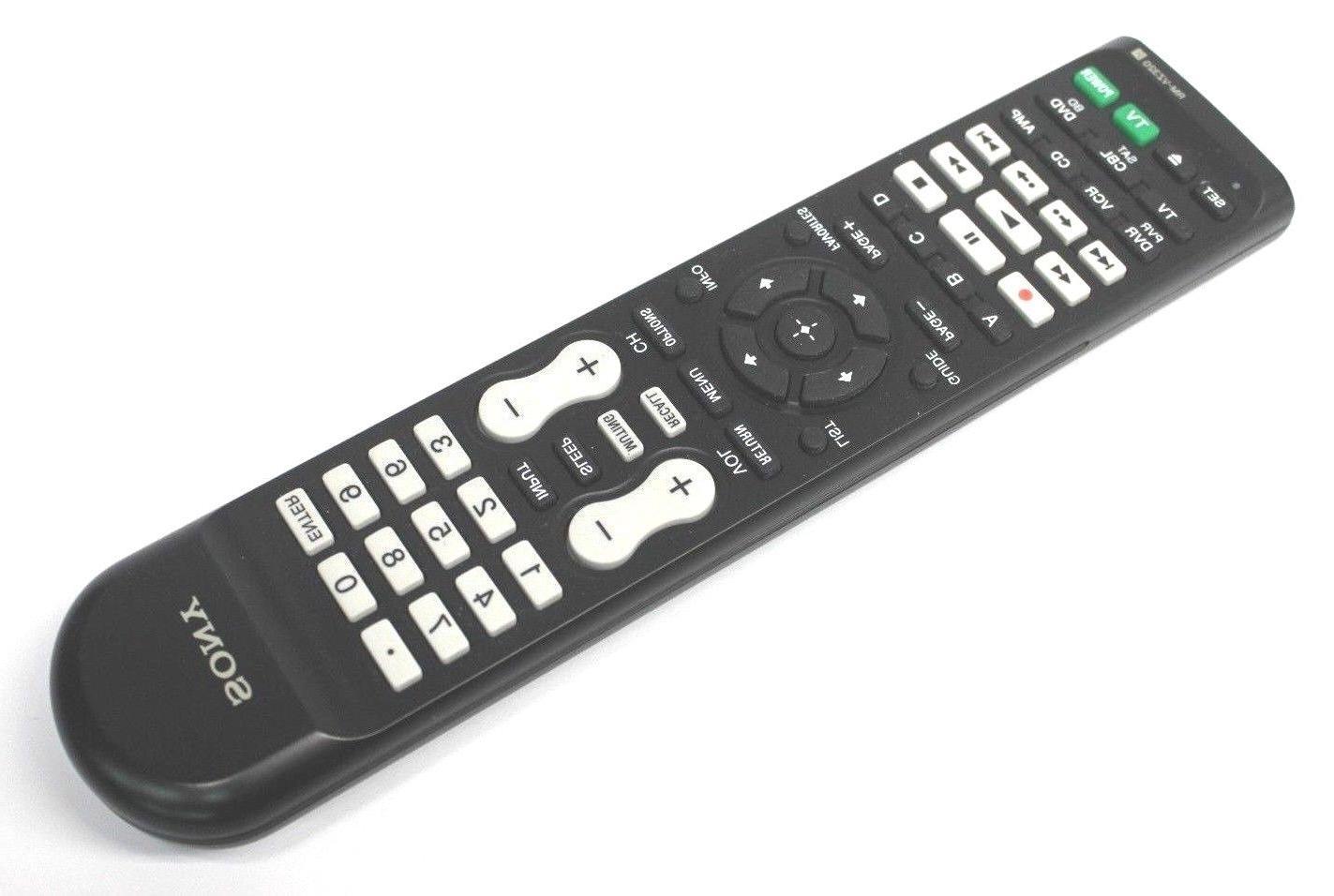 genuine original rm vz320 universal remote control