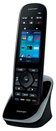 Logitech One with Customizable Touch Screen Control up Devices Tap Color 50 Favorite-Channel Icons-Harmony Hub Supported