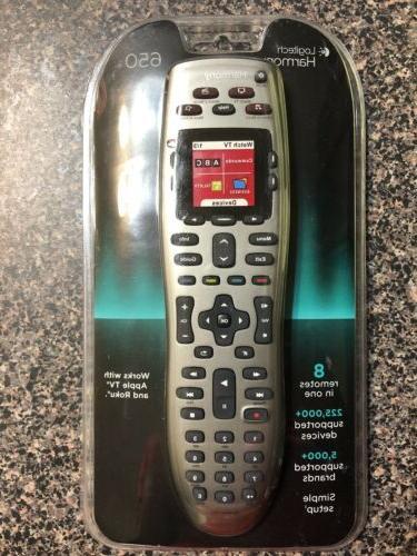 harmony 650 universal remote control new