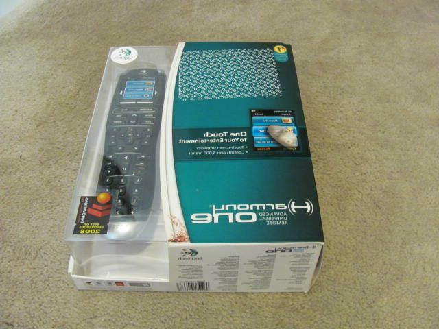harmony one advanced universal remote control touch