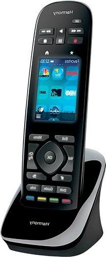 "Logitech 15-Device Remote with 2.4"" Color Touchscreen,"