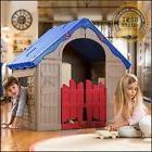 Indoor Outdoor Playhouse Kids Children House Pretend Play Fo