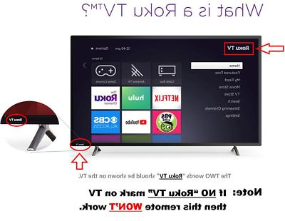 Control for and All ROKU TV