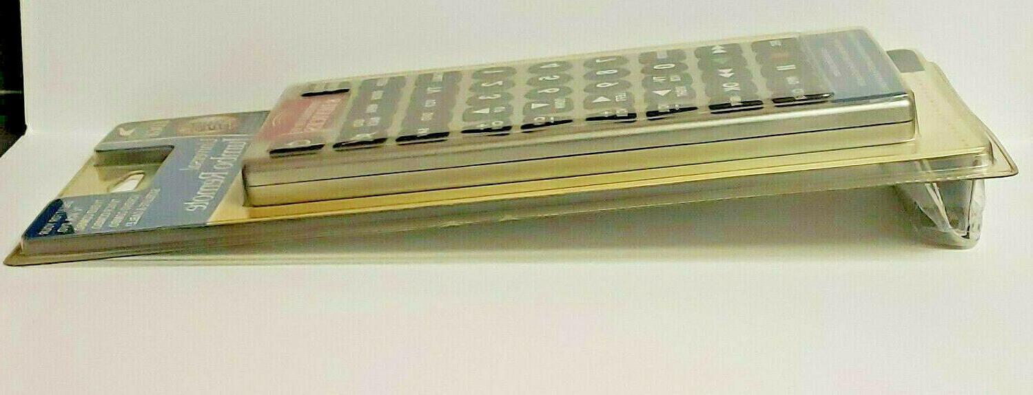 Jumbo TV VCR DVD SATELLITE & Controls Devices