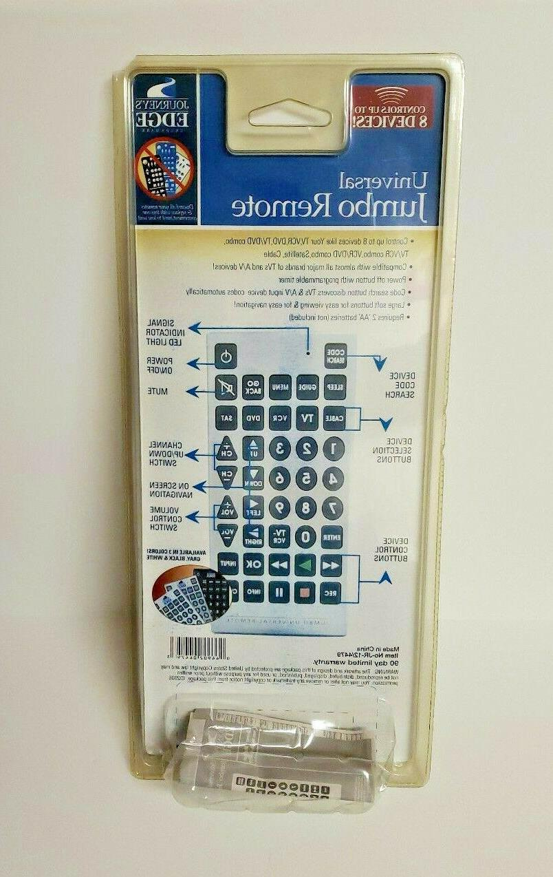 Jumbo Giant Remote TV VCR & CABLE Devices