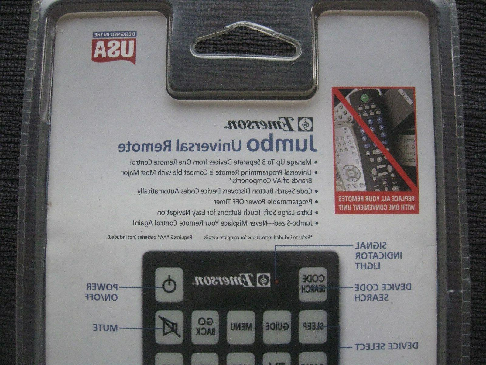 JUMBO Universal Devices~TV, DVD,VCR