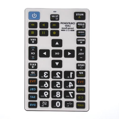 l800 universal learning remote control 8 devices