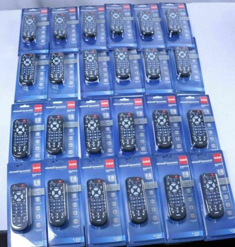 lot 24 NEW UNIVERSAL Remote Control RCA 3 Device RCR503BE RE