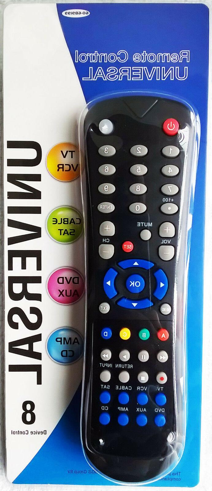 momentum brands universal remote control controls 8