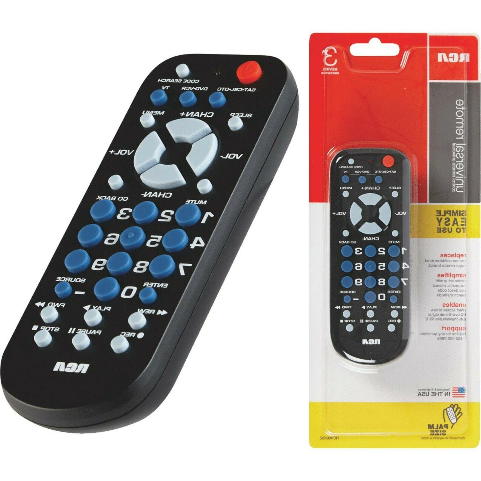 new 3 device palm sized universal remote