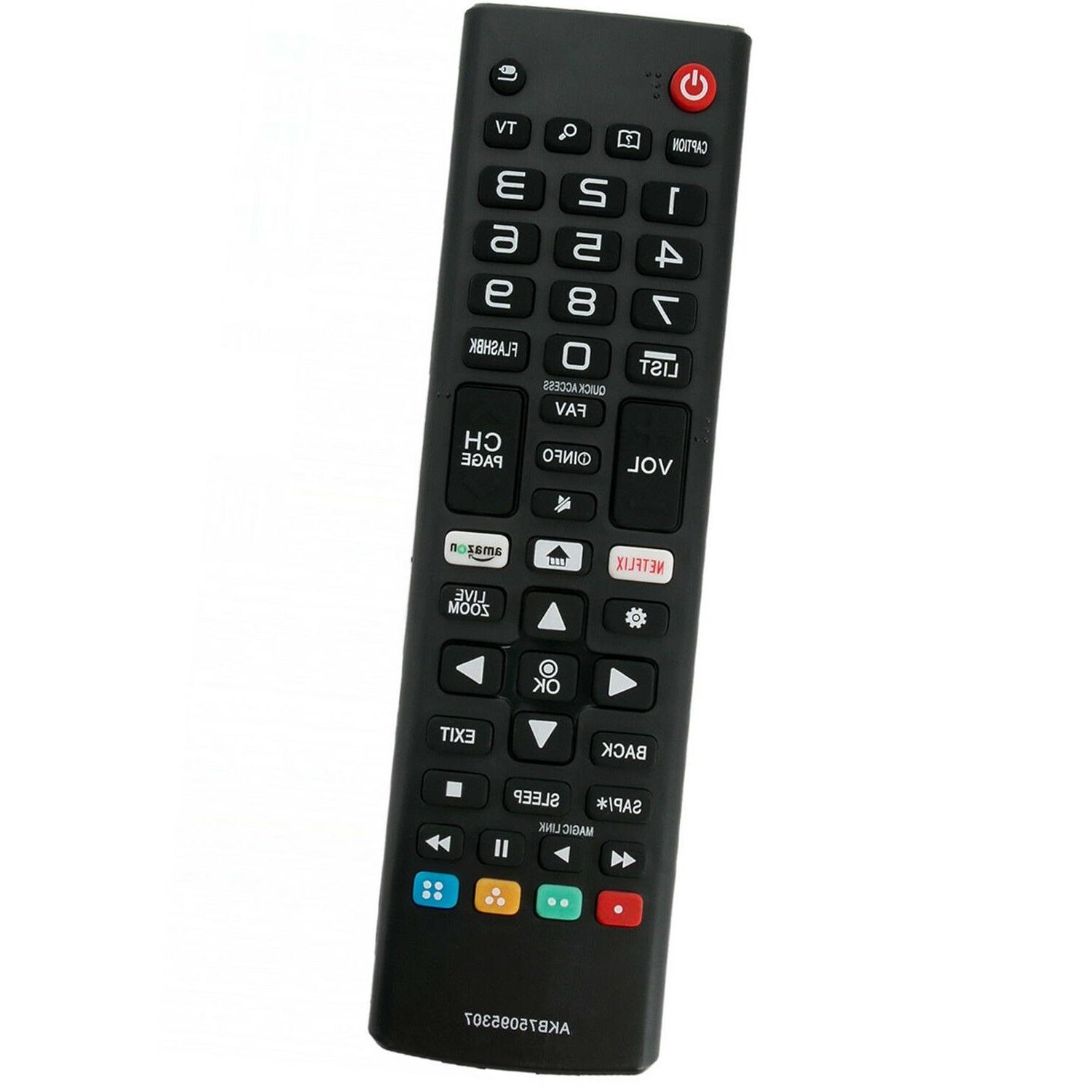 New AKB75095307 Remote Control Replace for LG Smart TV 43LJ5
